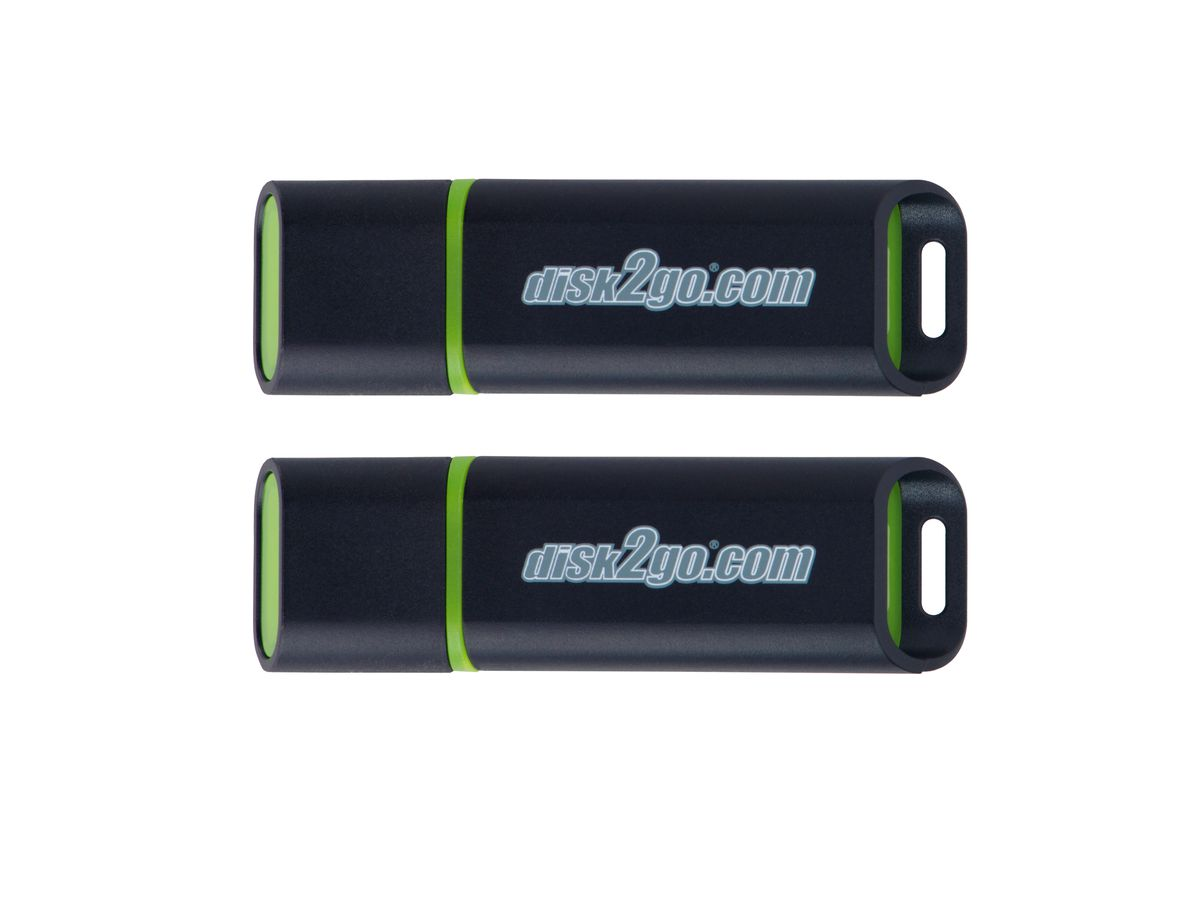 DISK2GO USB-Stick passion 2.0 16GB 30006572 USB 2.0 double pack (7640111166863)